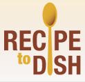 RecipeToDish Logo